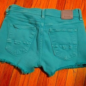 Bench green jean shorts